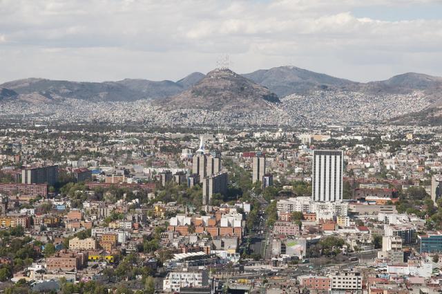 Vista de la Ciudad de México. Fuente: Flickr / Eneas De Troya