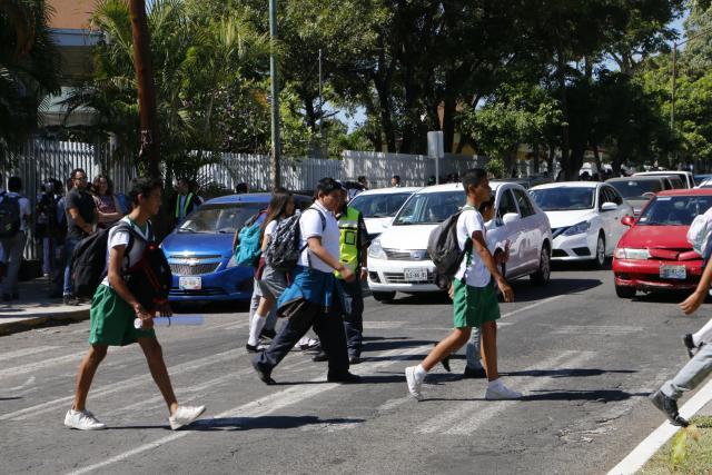 Foto: Taller de seguridad vial en Colima, México.