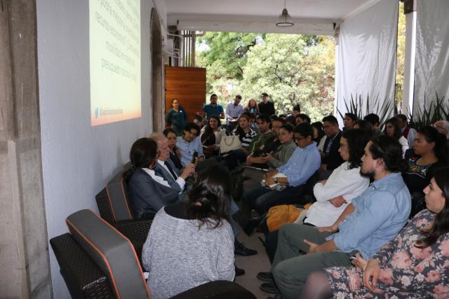 El diálogo tuvo lugar el miércoles 26 de junio y se realizó en torno al rumbo de la movilidad en el marco de la sostenibilidad urbana.