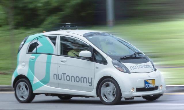 Vehículo de nuTonomy