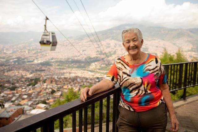 Rosalba Restrepo, líder comunitaria. Foto por Kyle Laferriere