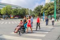 DistritoTec ha ayudado a que la gente regrese a los vecindarios que rodean la histórica y prestigiosa universidad de Monterrey. Foto de DistritoTec