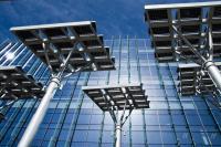Paneles solares en Las Vegas. Foto de Pony Rojo / Flickr
